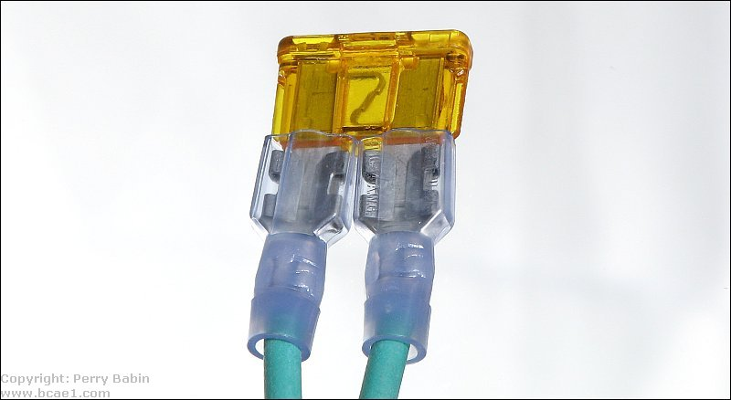 Jumper With Inline Fuse : Fuses