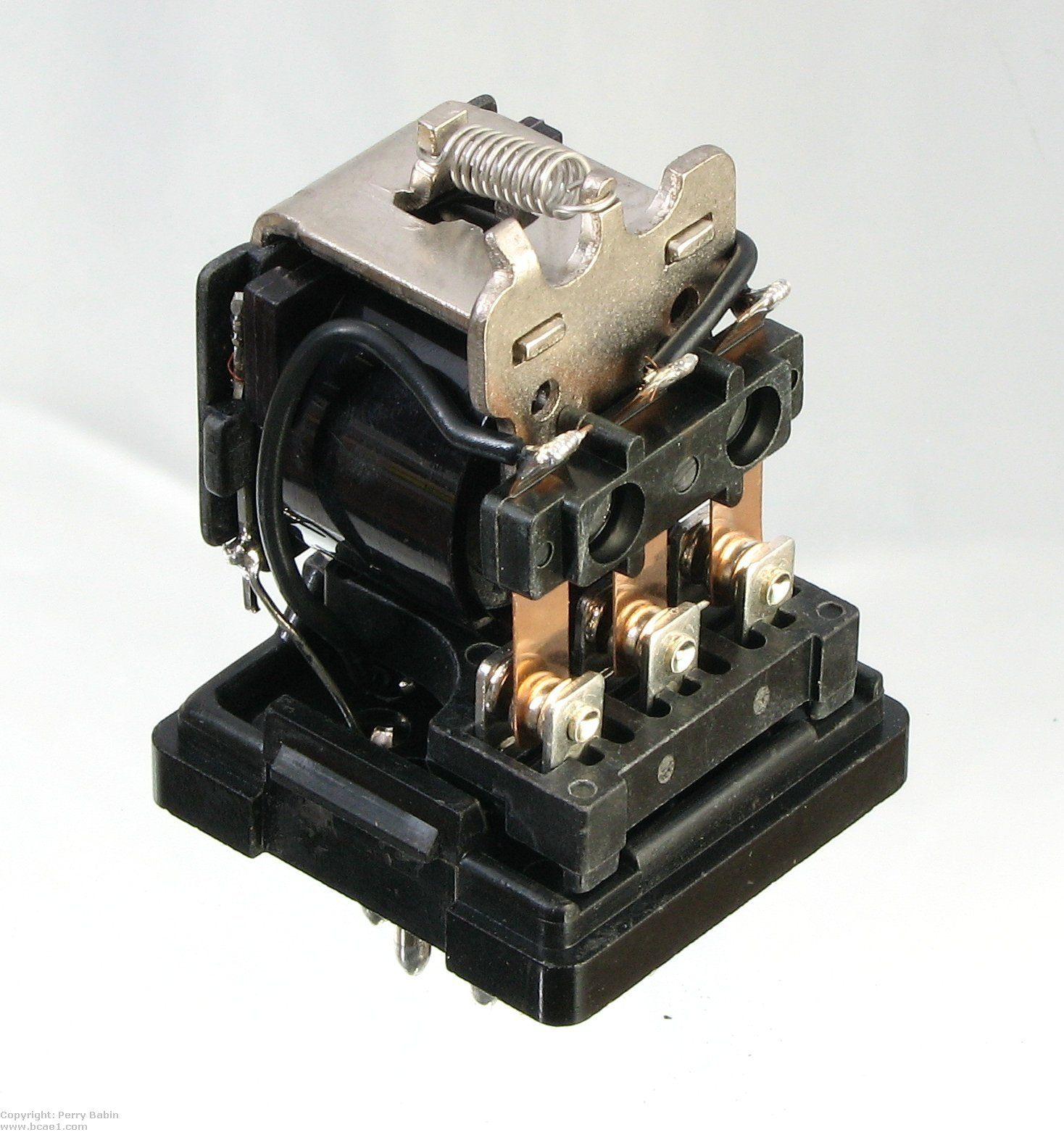 Relays Relay Socket Terminal This Is A Three Pole Double Throw The Terminals On One Require That It Be Used In