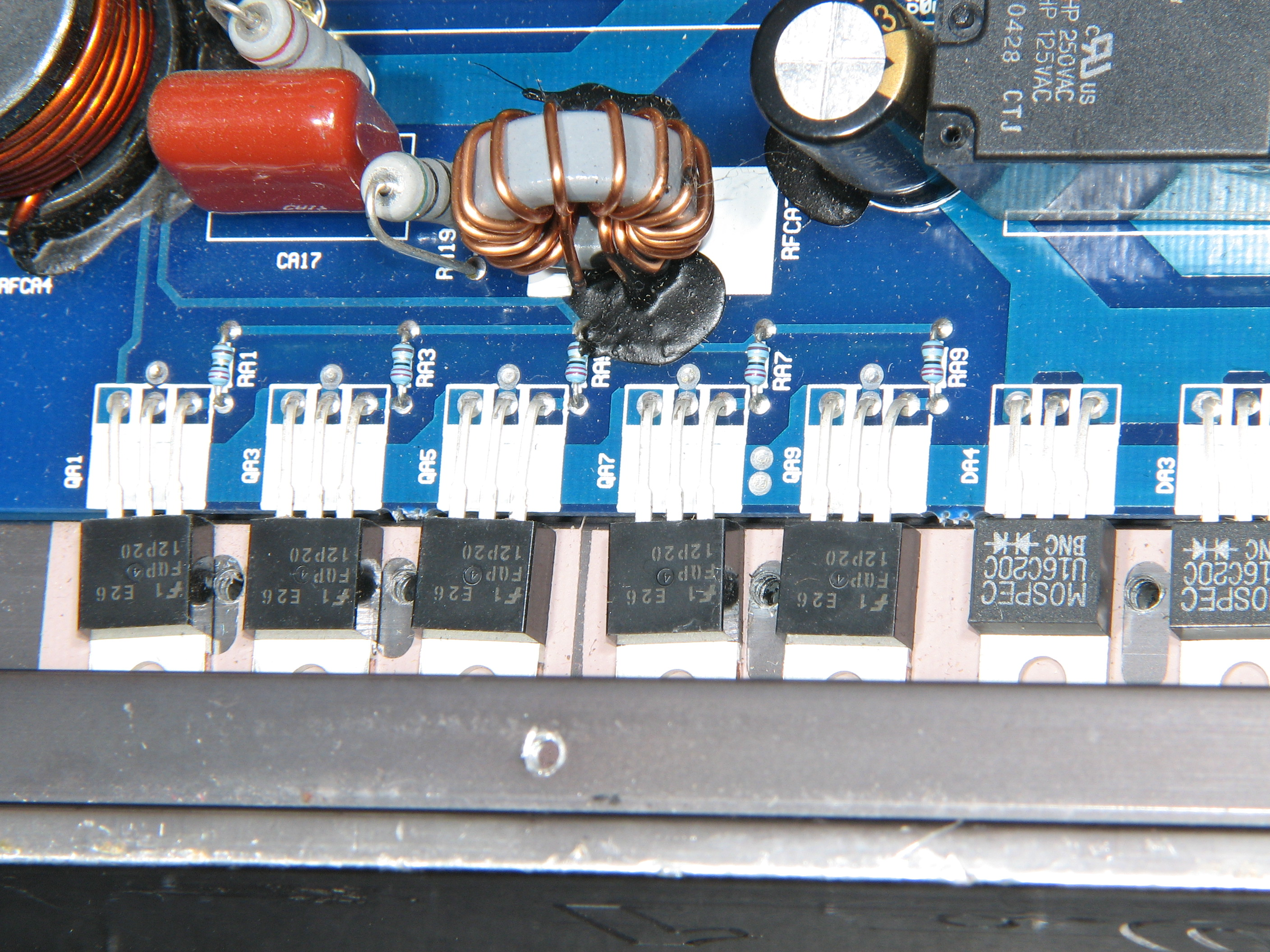 Autotek Mean Machine Mx15001 Diyaudio 1 Ohm Wiring Diagram These Are From A 3000 But They Should Be The Same I Dont Have